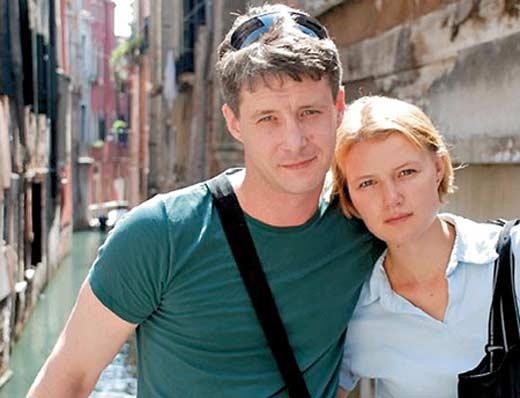Александр Макогон и жена Александра Михеева