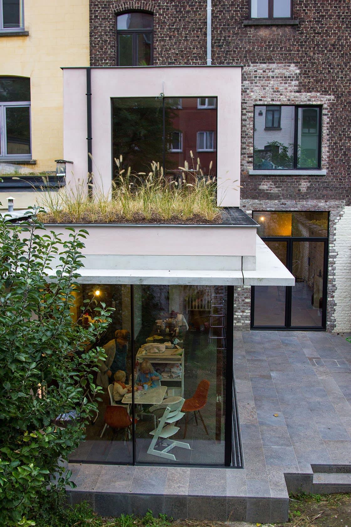 Siergrassen op het dak_project07