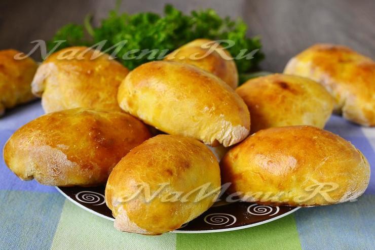 Тесто для пирожков на кефире без дрожжей рецепт в духовке