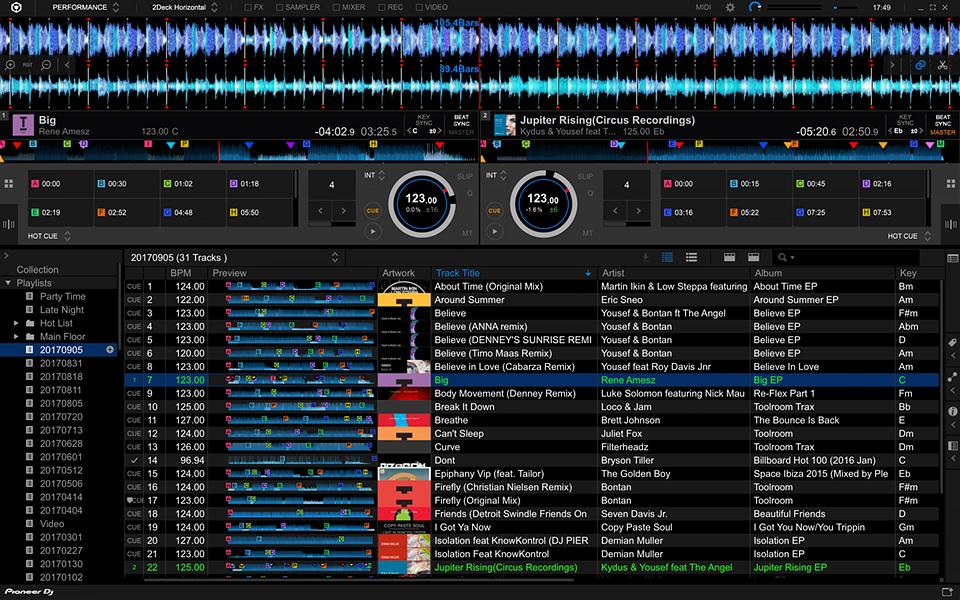 Cual es el mejor programa para mezclar musica dj