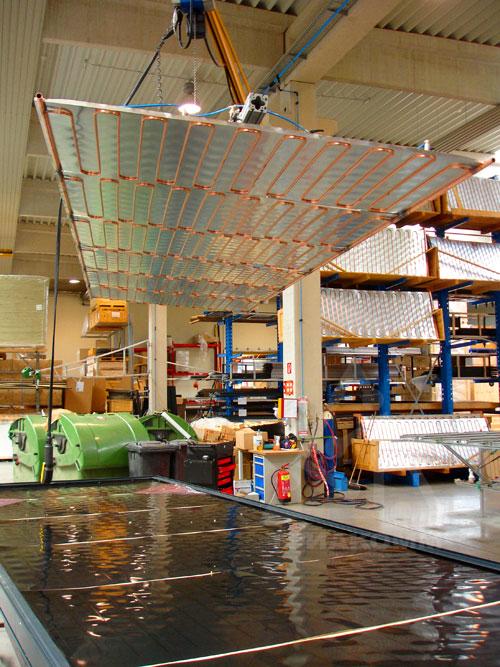 Оборудование для производства солнечных коллекторов