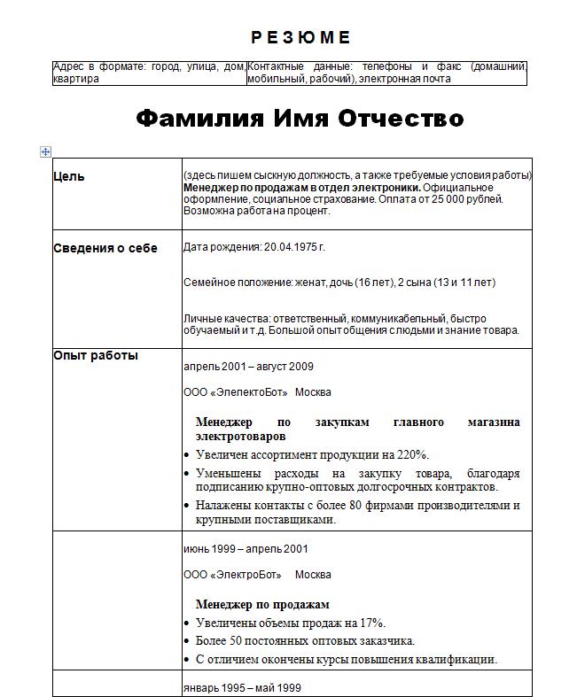 Резюме юриста образец в казахстане