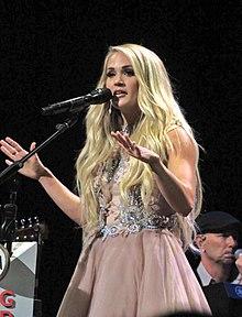Carrie Underwood, Grand Ole Opry House, Nashville, TN, June 2018.jpg