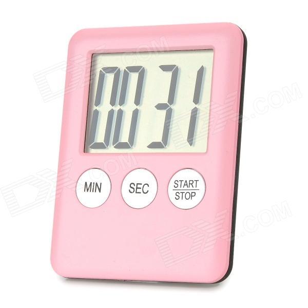Pink kitchen timer