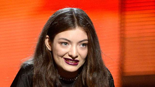 Pictures of lorde at the grammys