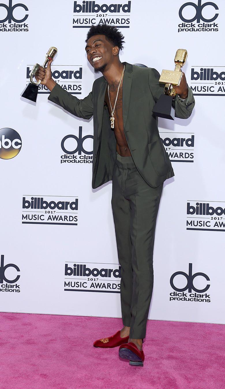 Desiigner на церемонии вручения музыкальной награды Billboard Music Awards в Ти-Мобайл Арене, Лас-Вегас, 21 мая 2017 г.