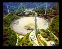 Radio telescope at Arecibo
