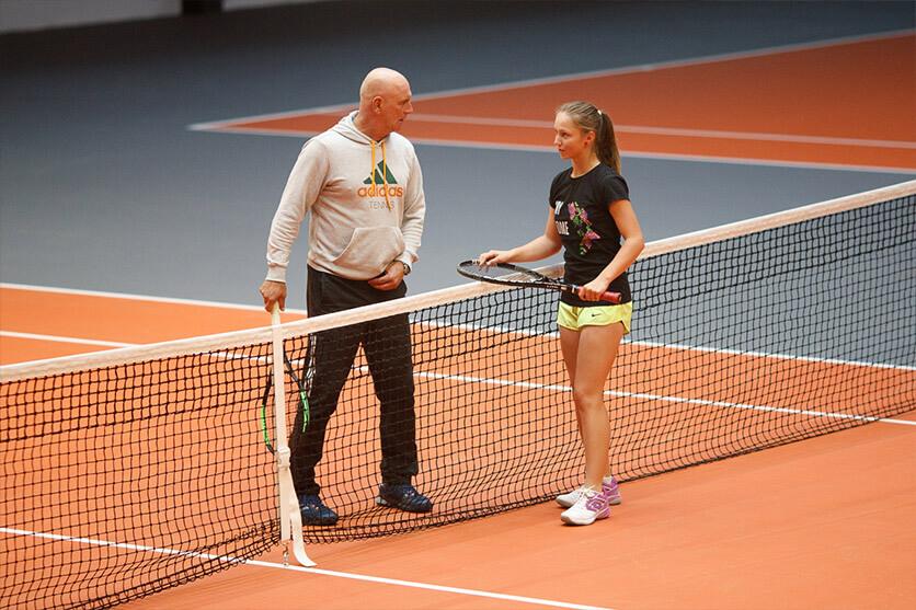 индивидуальные тренировки Минск теннис