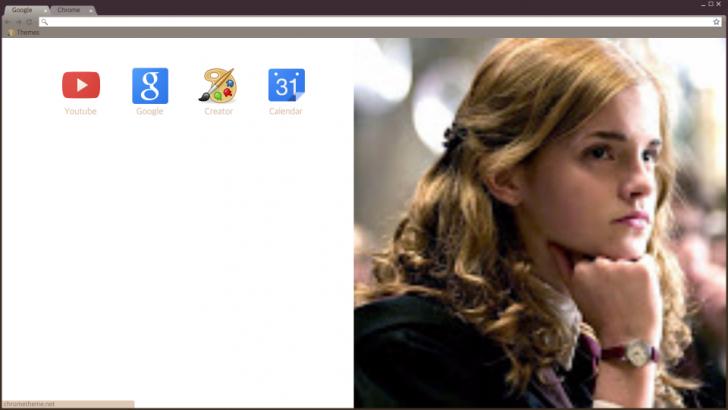Chrome themes emma watson