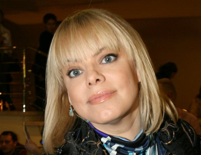 Актриса Яна Поплавская