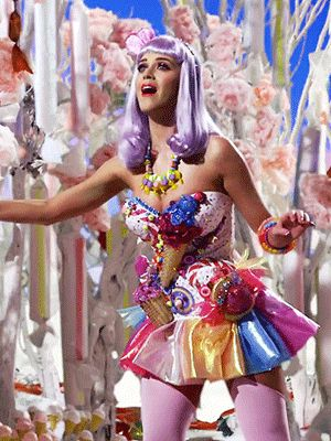 Katy perry candy girl outfit