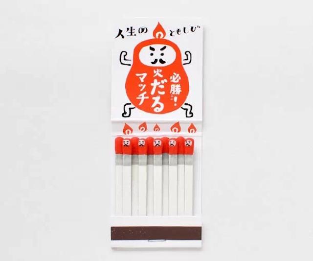 日本kokeshi创意可爱火柴盒设计