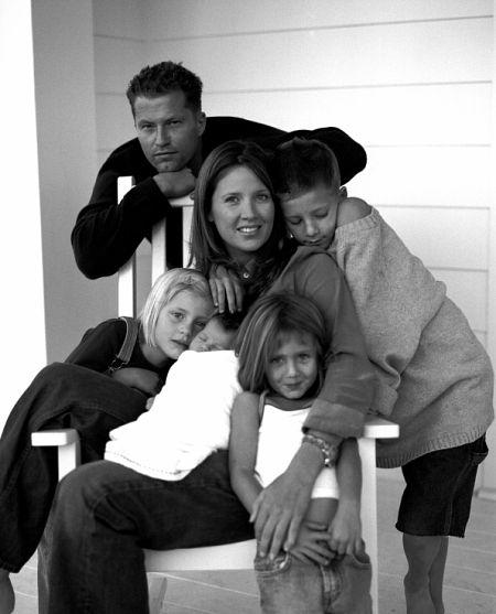 Тиль Швайгер с семьей фото