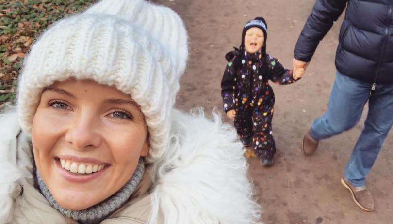 Инна Цимбалюк показала семейное фото с мужем и дочерью