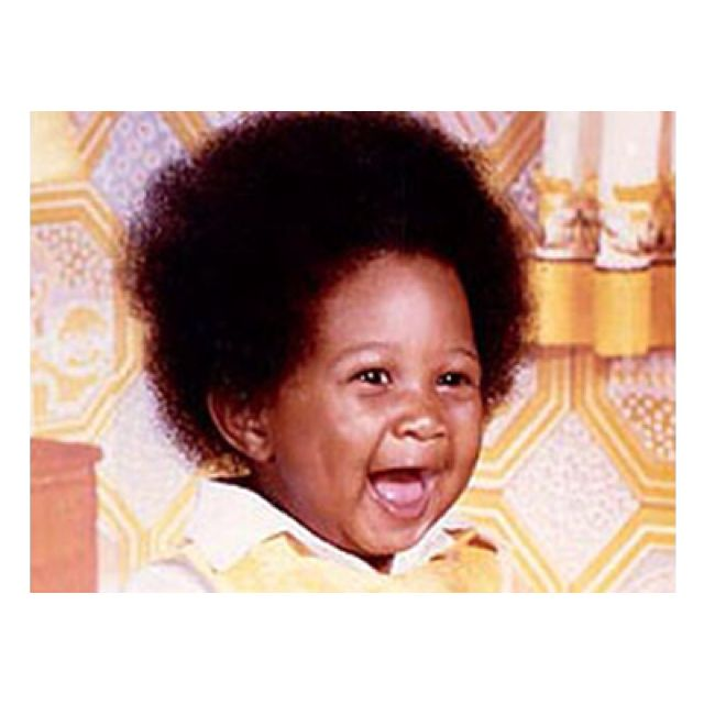 Usher as a baby