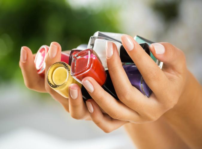 Nails and nail polish