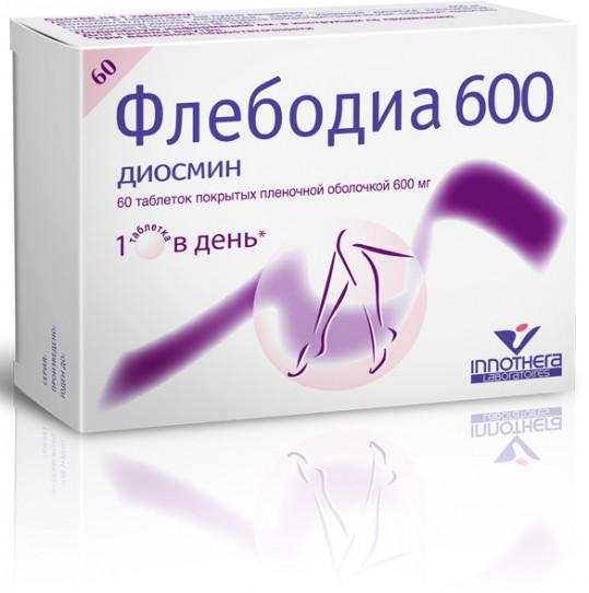 Флебодіа 600 інструкція по застосуванню ціна відгуки