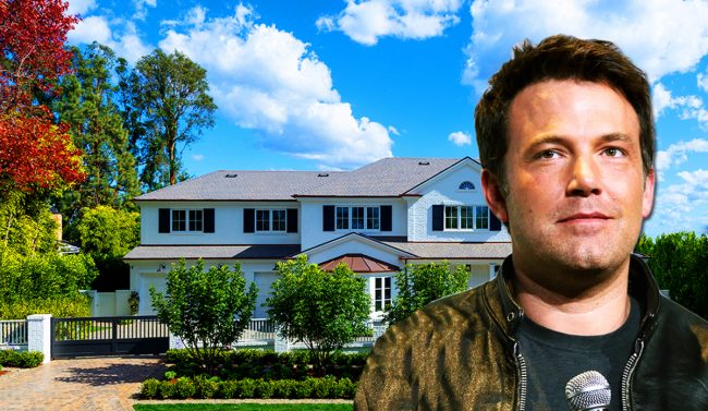 Ben affleck home pacific palisades