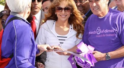 Celebrities giving money