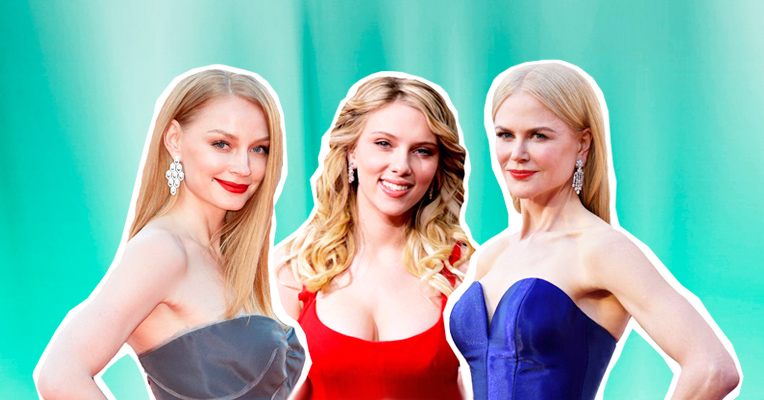 Актрисы блондинки не русские