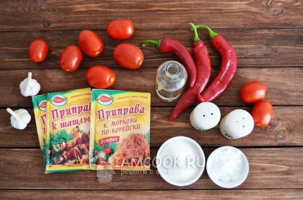 Рецепт кетчупа с крахмалом