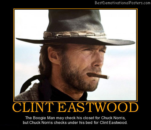 Demotivational posters clint eastwood