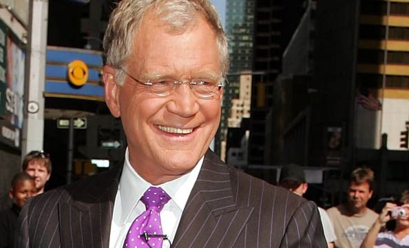 Michelle cook and david letterman