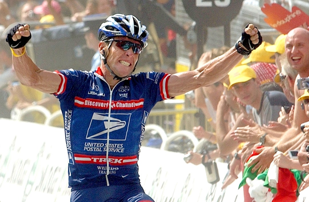 Lance armstrong us postal service jersey