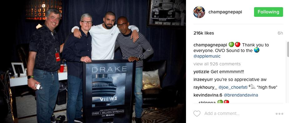 Drake billionaire boys club