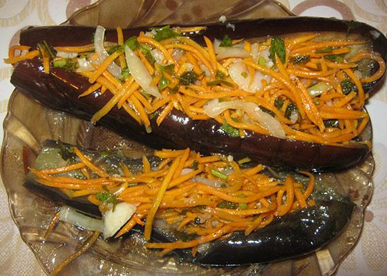 Рецепты засолки баклажан
