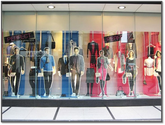 Картинки витрина магазина одежды