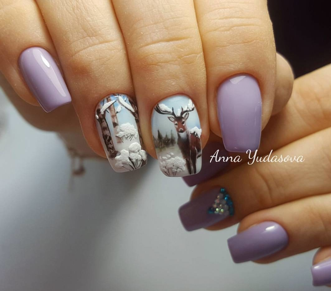 Nails french design