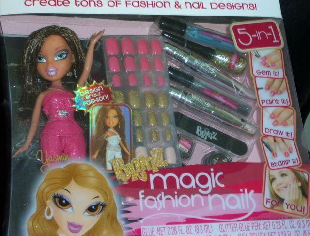 Bratz magic fashion nails yasmin