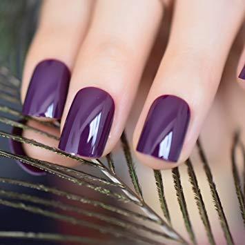 Fake nails colored tips