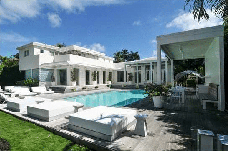 Homes of famous celebrities