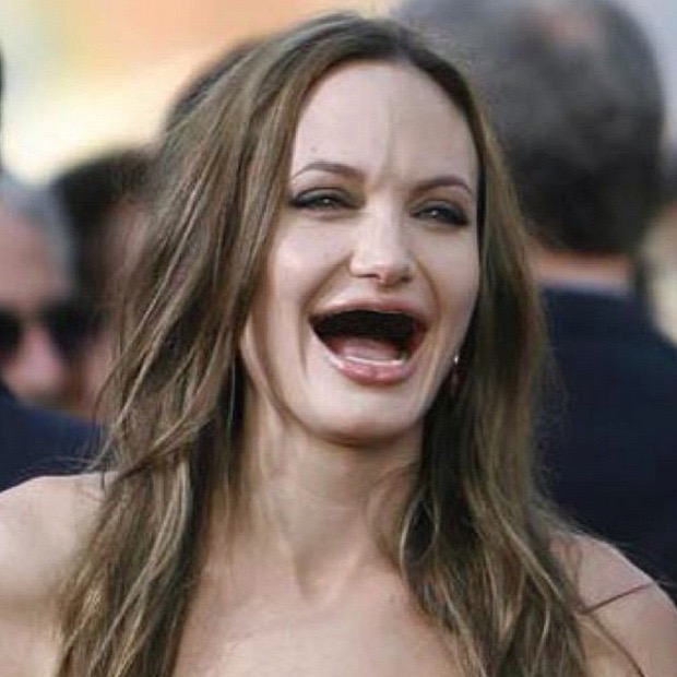 Celebrities without teeth twitter