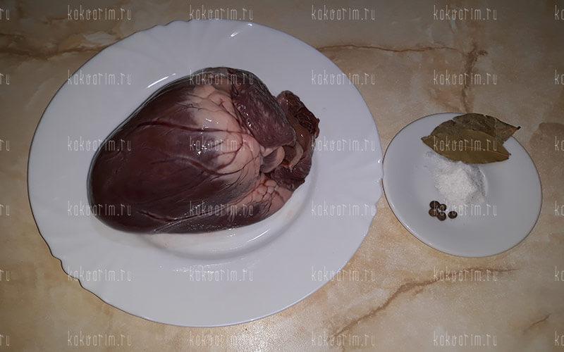 Фото 3 как варить свиное сердце
