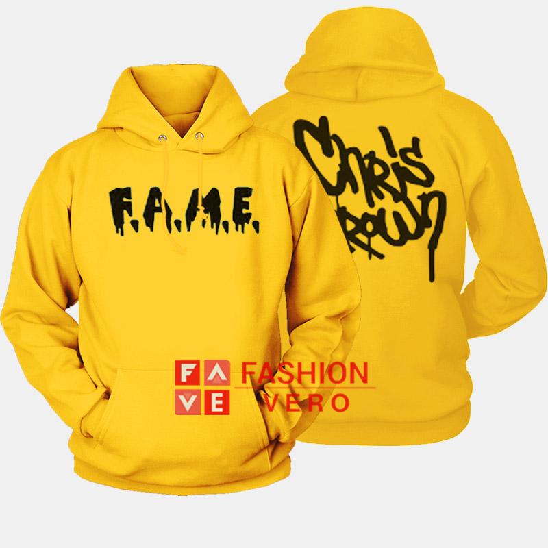 Purchase chris brown f.a.m.e.hoodie