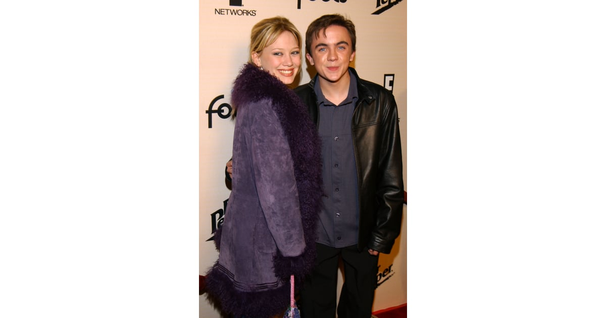 Frankie muniz y hilary duff
