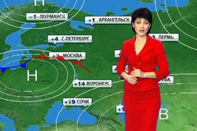 Ирина Полякова в программе «Прогноз погоды»