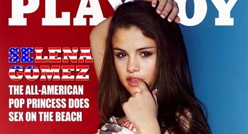 Selena gomez playboy pic