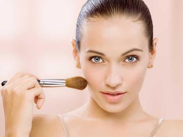 Деловой макияж женщины