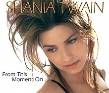 Shania twain from this moment sheet music