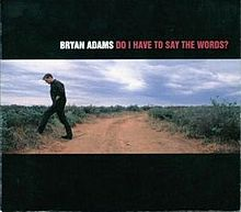 Bryan adams do i have to say