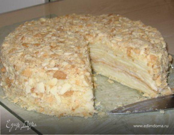 Торт наполеон рецепт на сковороде с фото