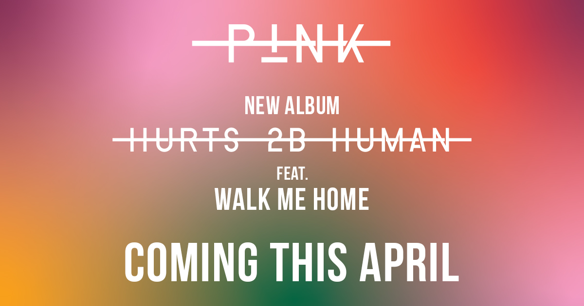 Pink new release cd