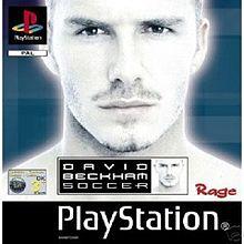 David beckham soccer video game