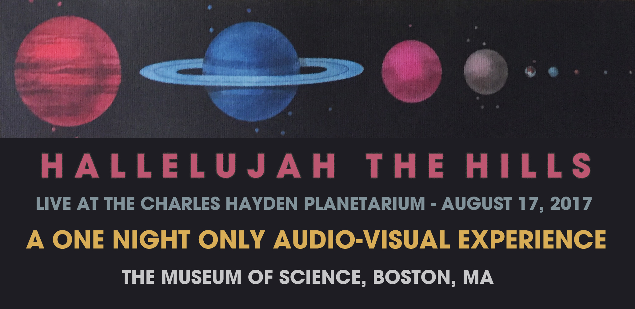 Live at the Charles Hayden Planetarium