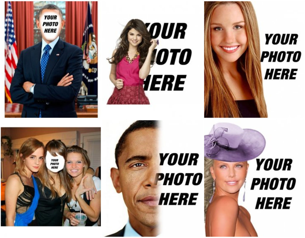 Your photo with celebrity