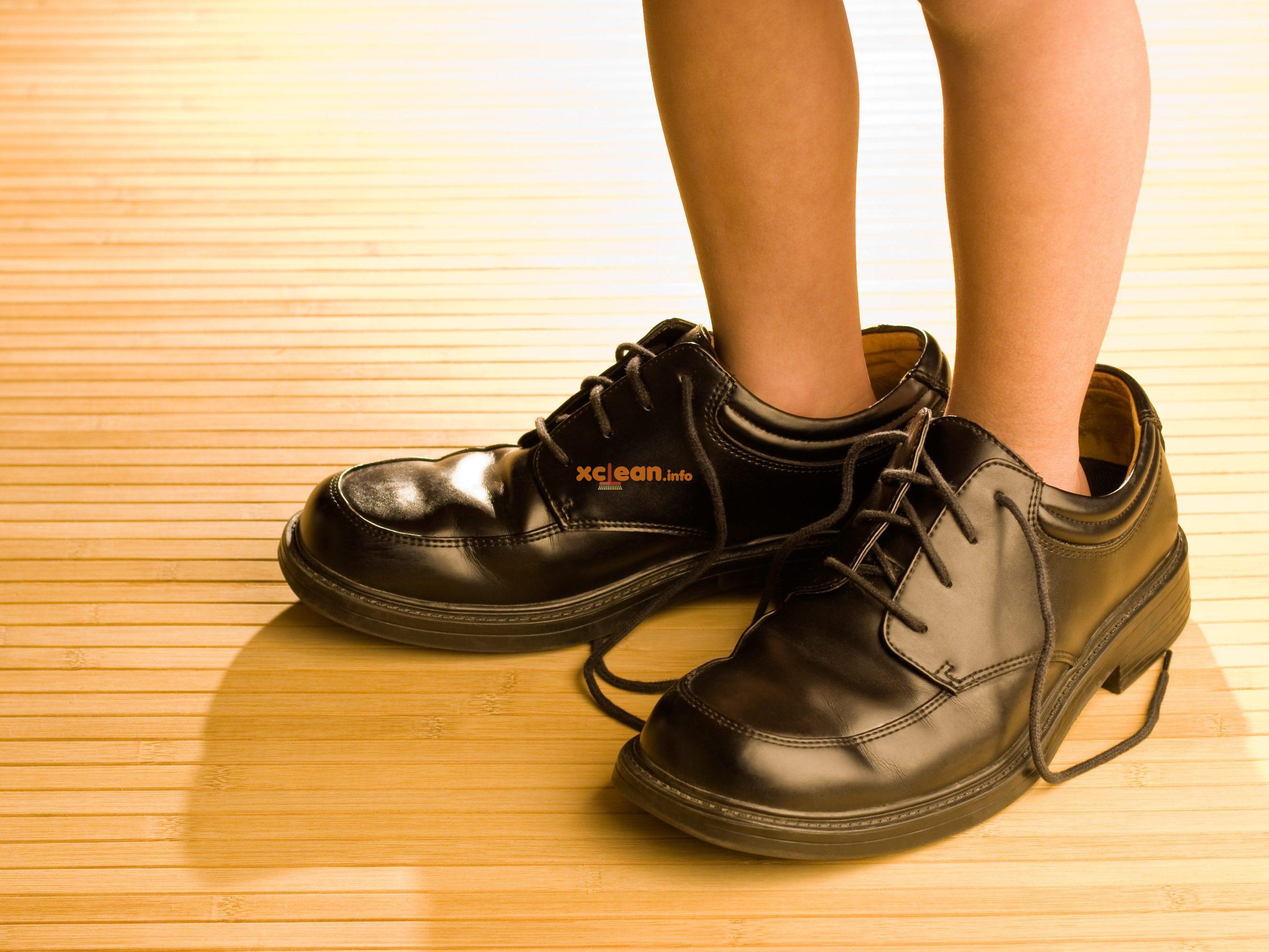 Что делать если кроссовки большие